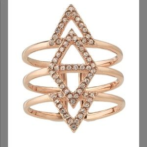 Stella & Dot- pave spear ring